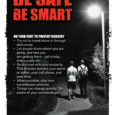 BE SMART – Do your part to prevent robbery –  BE SAFE Open each document to clearly view this valuable information.