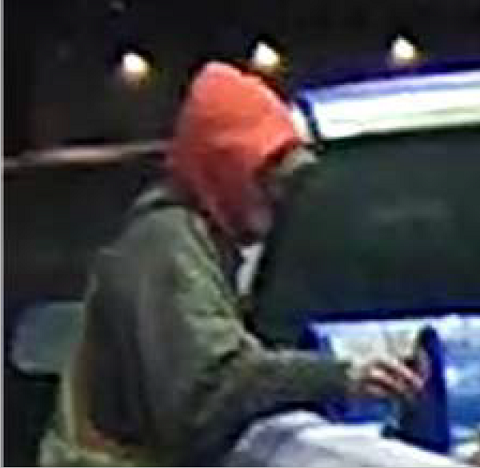 Suspect sought in theft of gas